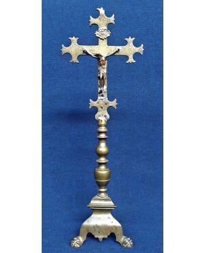 Crocefisso in bronzo - cm 52 h - Italia fine XVIII sec.