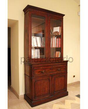 Bookcase con ribalta