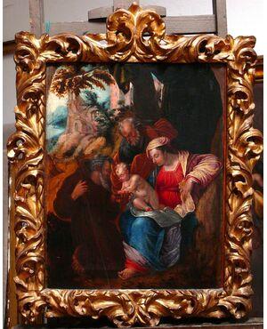 """Sacra Famiglia"", Lelio Orsi 1508-87."