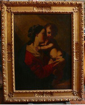"""""""Vergine e Bambino"""" Elisabetta Sirani e Allieve."""
