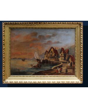 XIX secolo, Villaggio costiero