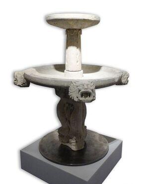 Fontana in tufo