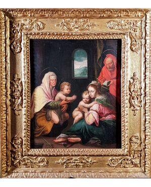 """Sacra Famiglia"" Attribuito a Sebastiano Filippi"