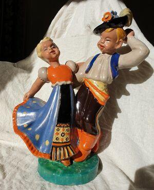 Ballerini - ceramica komlos 1930