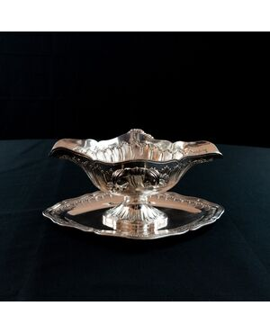 Salsiera in argento