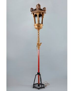 Lanterna da terra del XVIII sec.