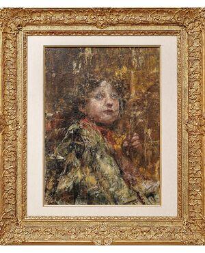 Il chierichetto - Antonio Mancini - 1852-1930