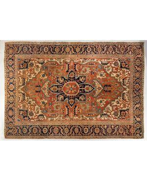Grande tappeto antico Heriz SERAPI - (.853)