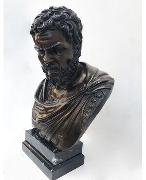 Busto in bronzo - Togato