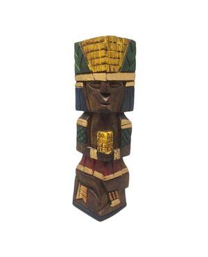 1970s Beautiful Ethnic Sculpture in Wood