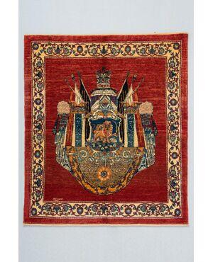 Tappeto persiano KASHKULY firmato - nr. 1314 -