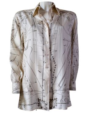 Camicia in seta HERMÈS