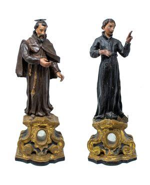 San Francesco e Prelato, XIX secolo