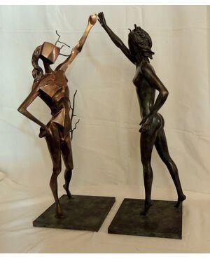 Bronzi di DALI'   LA DANCE -  h cm 72,5