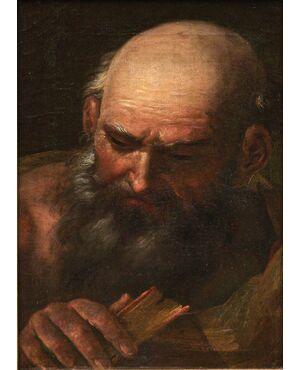 Ritratto di uomo con libro, XVIII secolo