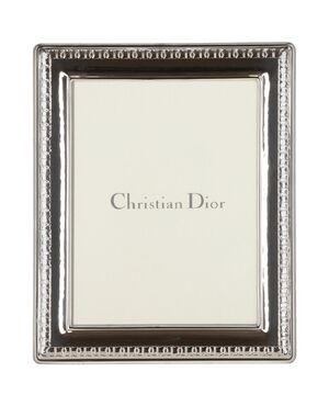 1980s Christian Dior Silver Frame
