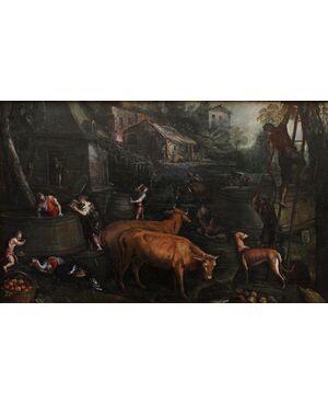 L'Autunno, ambito di Jacopo da Bassano, XVI secolo