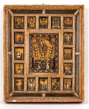 Germania, XVII, Palliotto in vetri colorati ritraenti scene cristologiche
