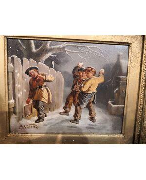 Battaglia di neve