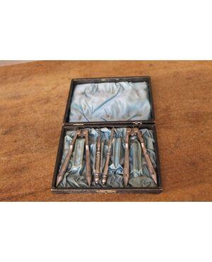 :  Servizio strumenti antichi per crostacei! primi 900