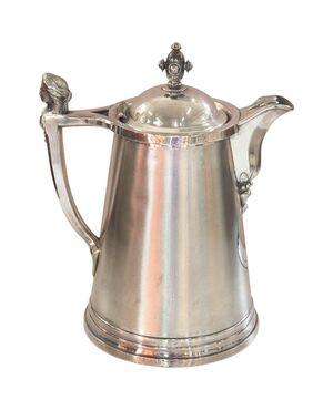 brocca antica placcata argento marchio Stimpson, Sec XIX 1868 PREZZO TRATTABILE