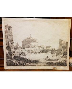 Disegno del XVIII Sec. Scuola romana