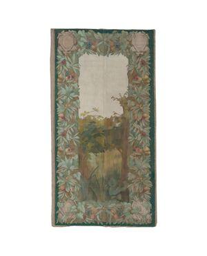 """Antico arazzo dipinto """"Succo d'erba"""" francese - O/4795"""