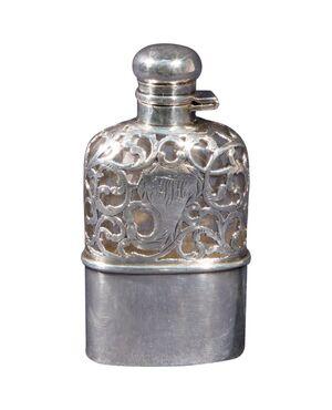 Fiaschetta argento da whisky - A/2477