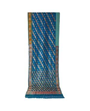 SARI Indiano antico color turchese - B/1524-7