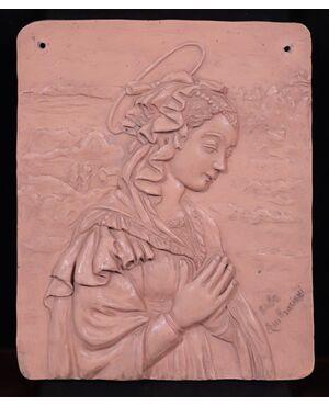 Ambrosioni Jole (1885-1979) - Madonna in preghiera