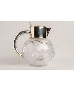 Caraffa in cristallo di epoca Déco - O/2846