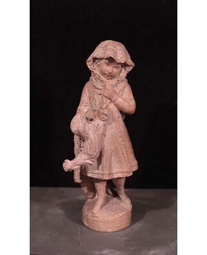 Andreini Ferdinando (Firenze 1843-1922)-Bambina
