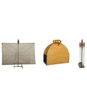 Completo di accessori per camino - O/4215