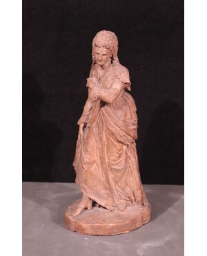 Focardi Giovanni (Firenze 1848-1903) - Dama a passeggio