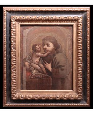 Dipinto: Sant'Antonio da Padova, Toscana, Sec. XVII