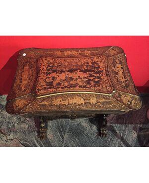 tavolino laccato cm 65 x 45 x 70