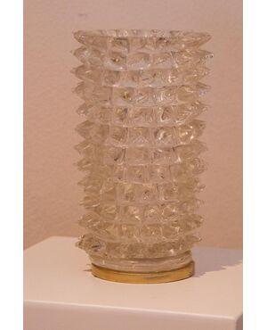 vaso in vetro rostrato Barovier eToso