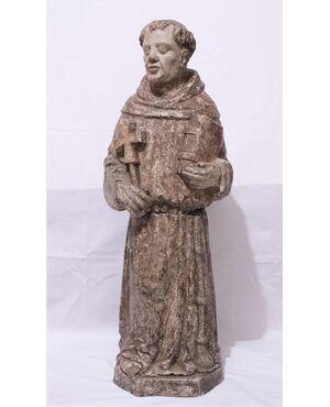 "Scultura in pietra ""San Francesco"", Veneto,  Sec. XV"