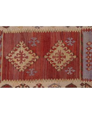 Galleria-passatoia turca KEISSARY di vecchia manifattura (n.1026)