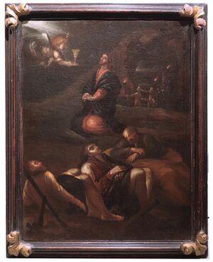 """""""Cristo nell'orto"""", Scuola Emiliana, Sec. XVII"""