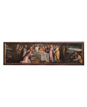 Pauwels Francken (1540-1596) - Resurrezione di Lazzaro