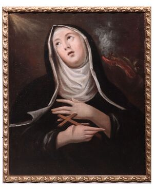 "Dipinto ""Santa Marta"", Toscana, '600"