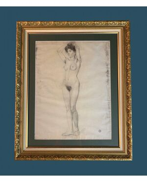 Fernand Duroze (1876-1961) - Large Standing Nude