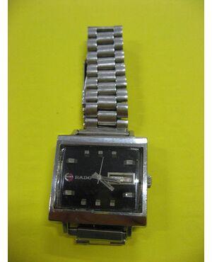 Orologio da polso RADO in acciaio. Vintage anni 1970 Art. 1501