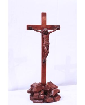 Cristo in legno di bosso, Toscana, '600