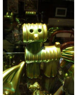 "Cane robotico ed ""incaico"" disegnato da Nador Judit"
