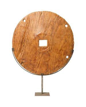 Ruota in legno arcaica - O/5713