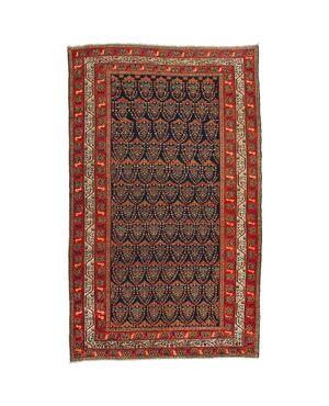 """Antico tappeto MALAYER a disegno """"botteh"""" (mandorla) - n.775"""