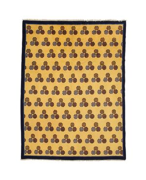 Raro tappeto cinese NING-XIA a motivo Cintamani - n.761