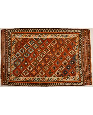 Kilim antico Kaskai o GASHGAI da collezione - n.204